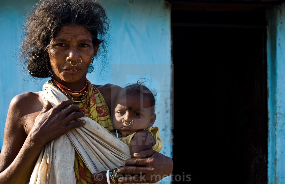 """Dongriya Khond ( India)"" stock image"