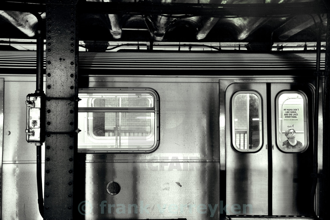 """Subway NYC"" stock image"