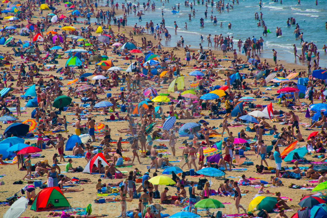 """Heatwave at Coast City The Hague"" stock image"