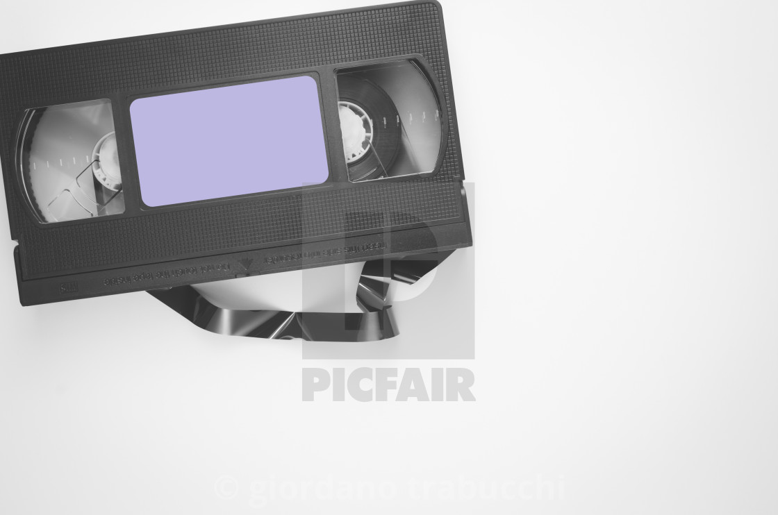"""""""tape recording support"""" stock image"""