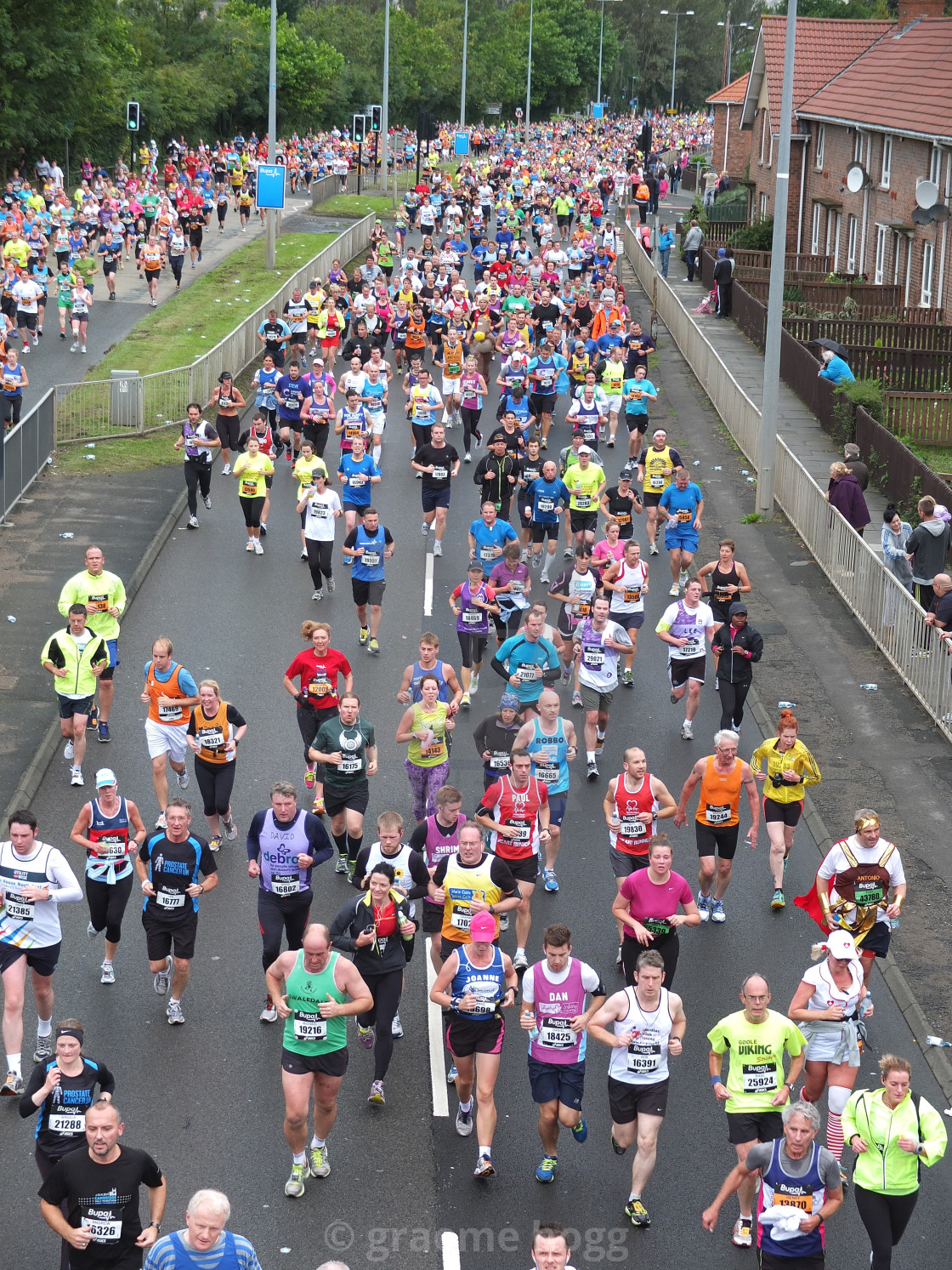 """great north run 1"" stock image"
