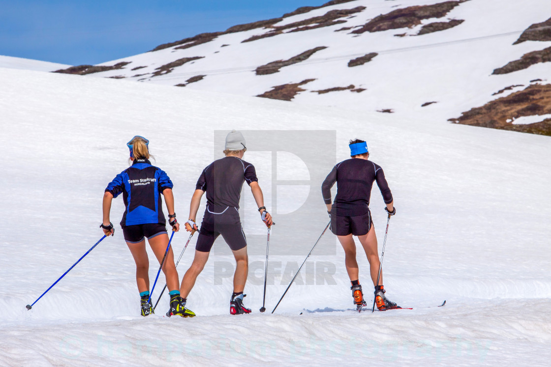 """Training for winter"" stock image"