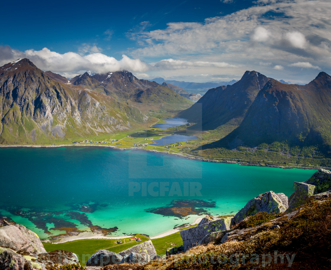 """Lofoten Islands"" stock image"