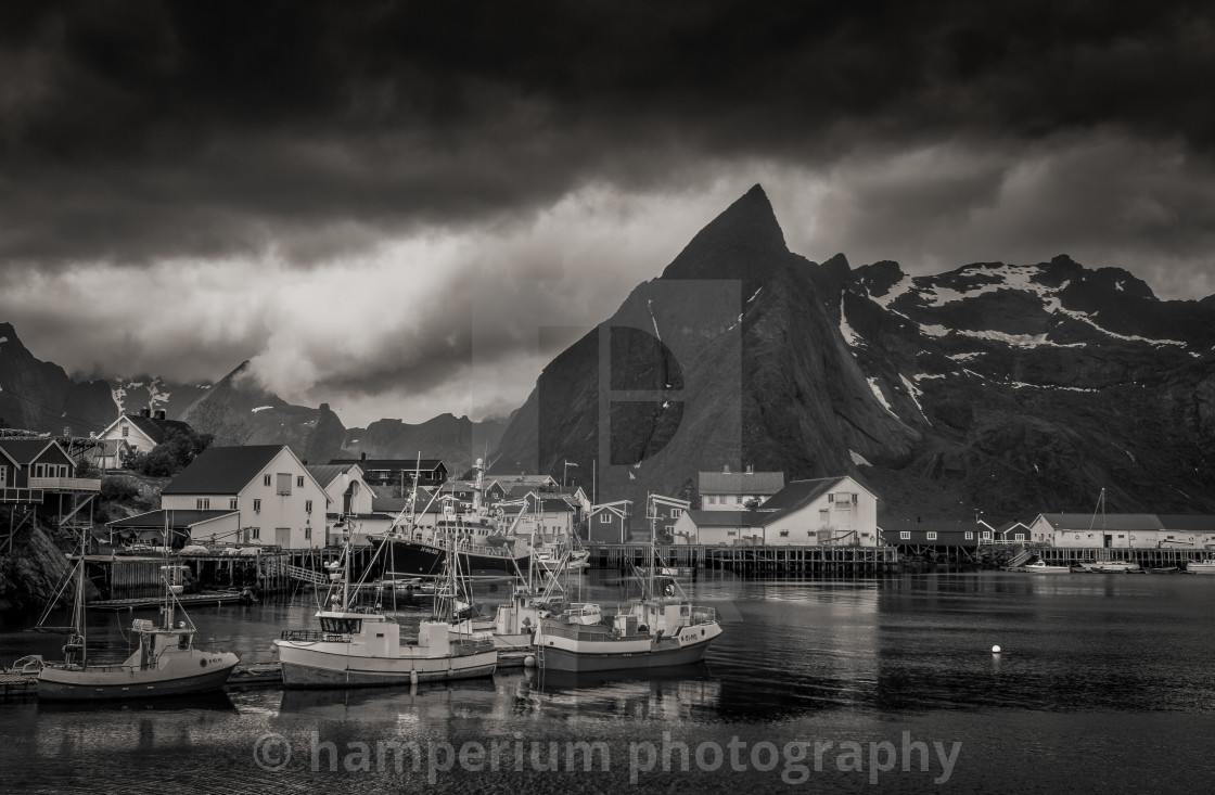 """""""Lofoten in Norway"""" stock image"""