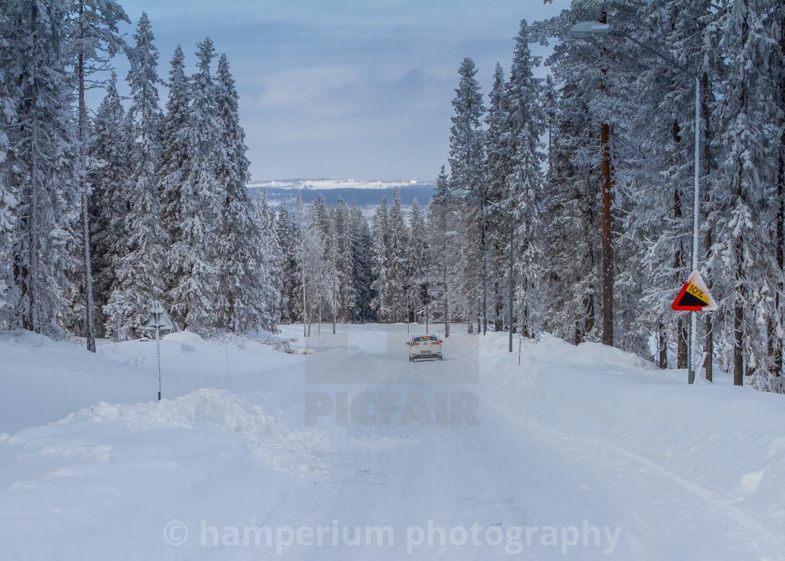 """Cold Swedish winter"" stock image"
