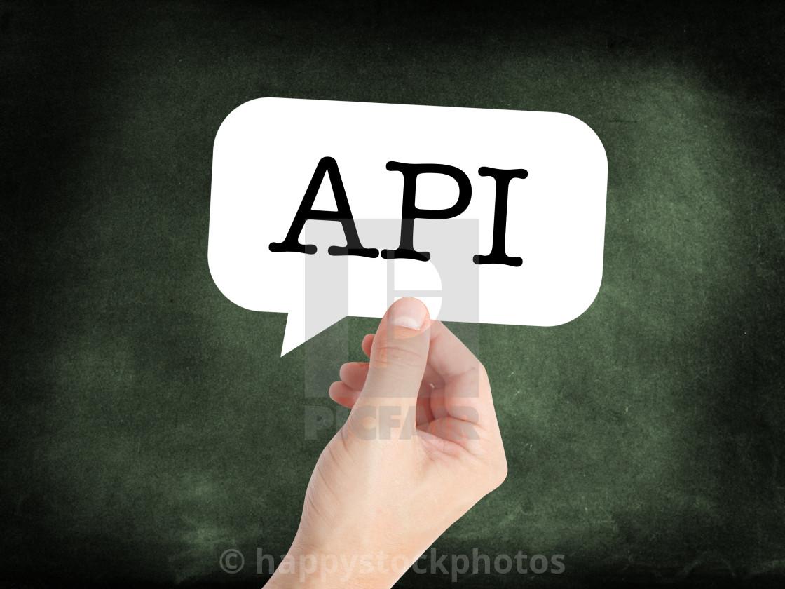 API - License, download or print for £12 40   Photos   Picfair