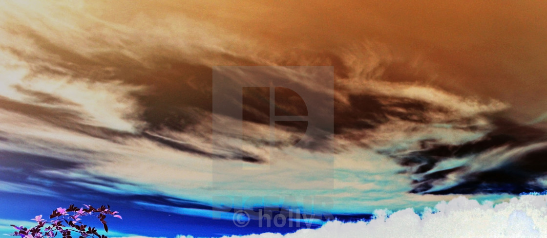 """""""abstract fall sunset"""" stock image"""