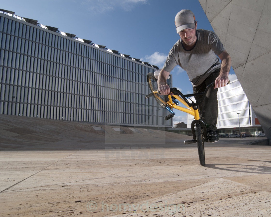 """Bmx training"" stock image"
