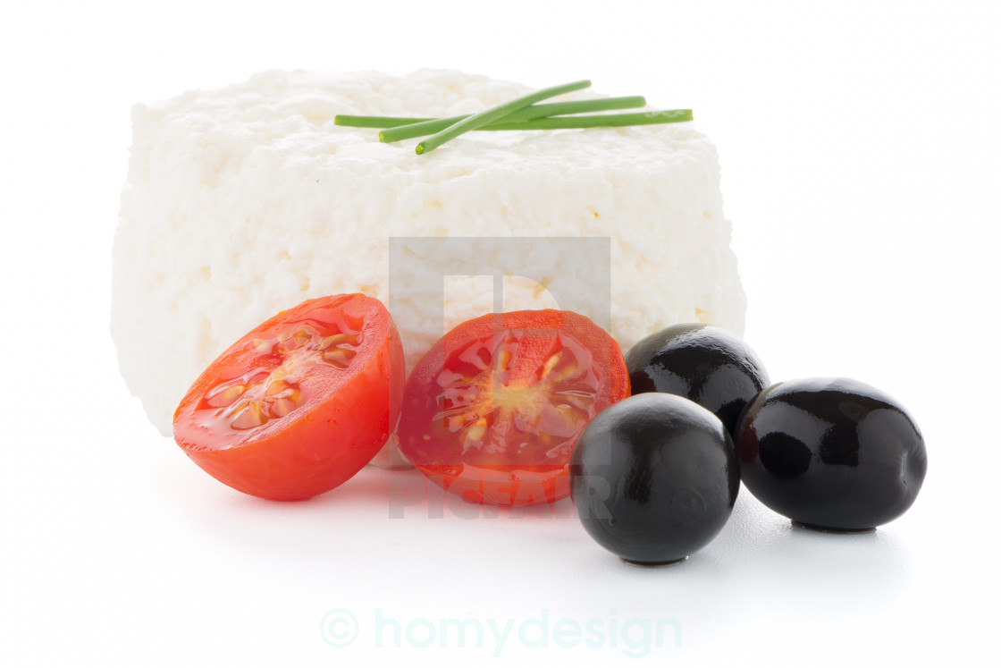 """""""Cottage cheese"""" stock image"""