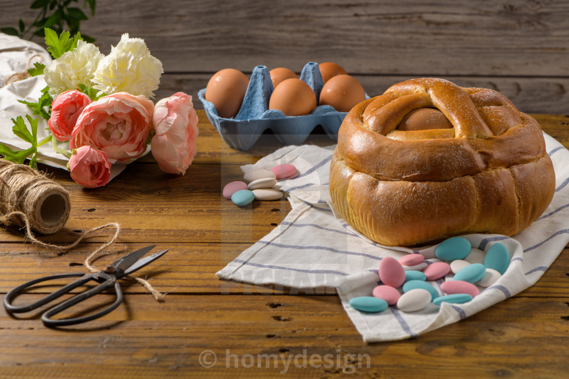 """Easter folar with egg"" stock image"