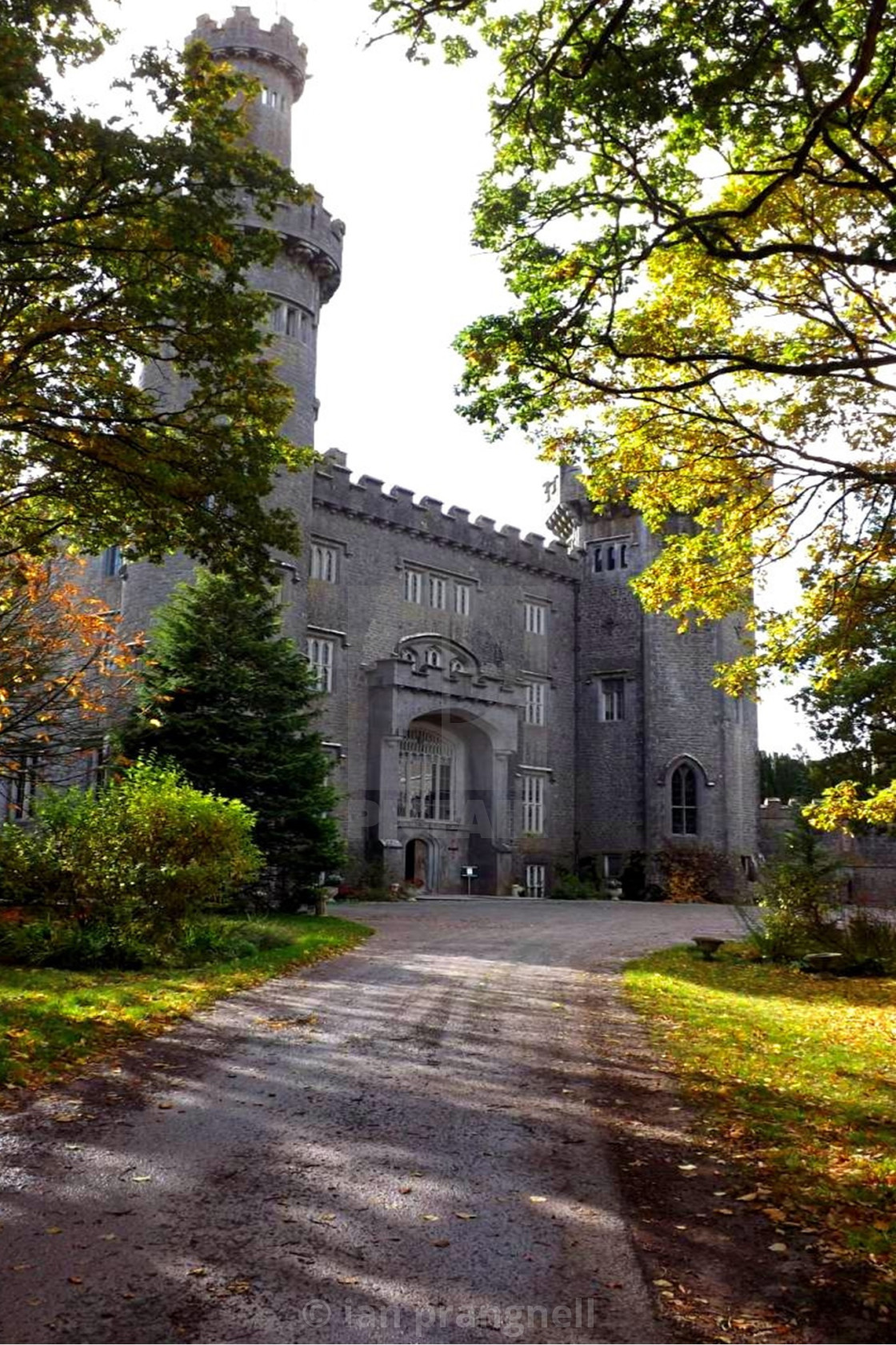 """""""Charleville castle In Tullamore"""" stock image"""