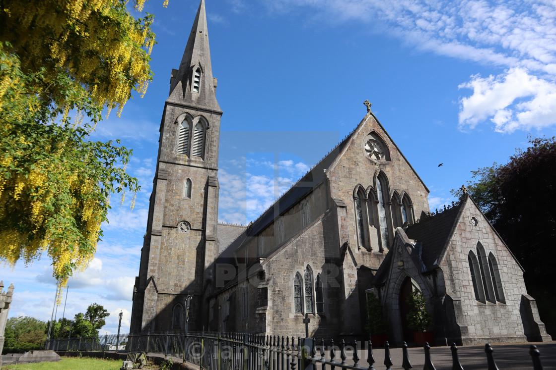 """Granard Church in Longord Ireland"" stock image"