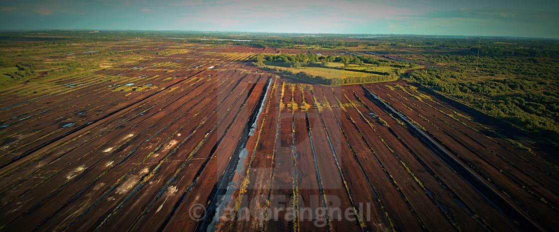"""Irish Boglands and Bogs"" stock image"