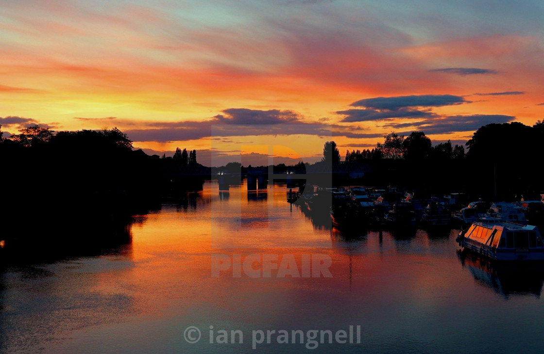 """White Bridge of Athlone Ireland"" stock image"