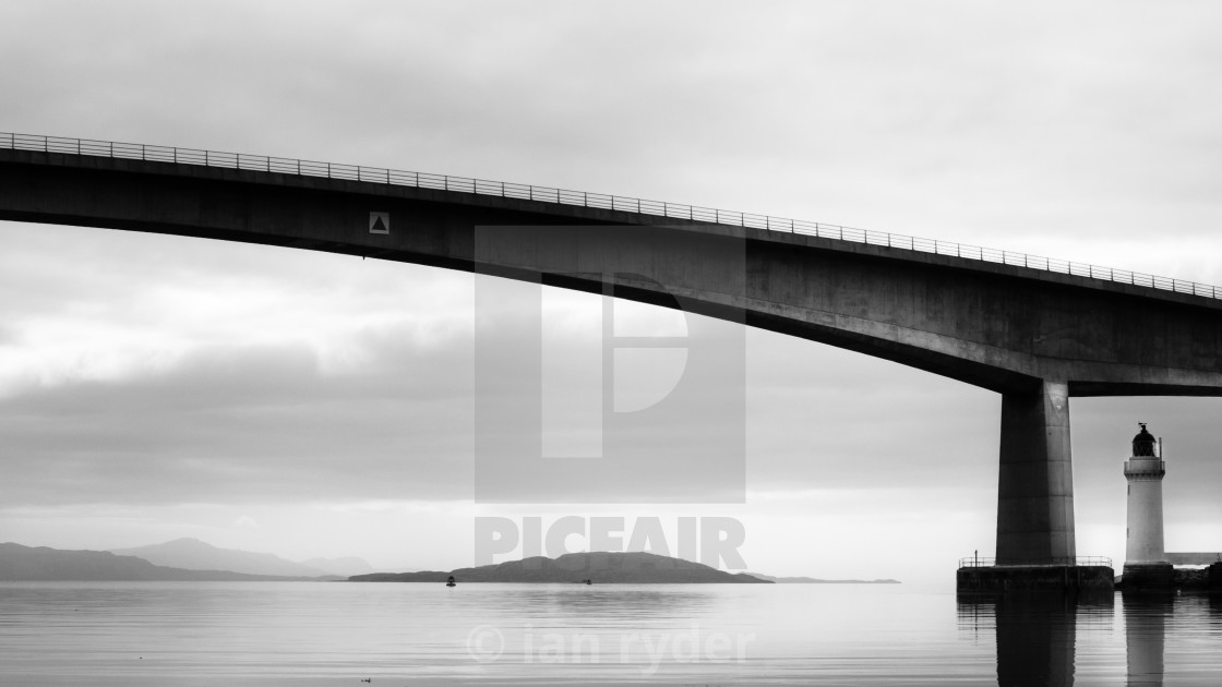 """SKYE BRIDGE, ISLE OF SKYE, SCOTLAND"" stock image"