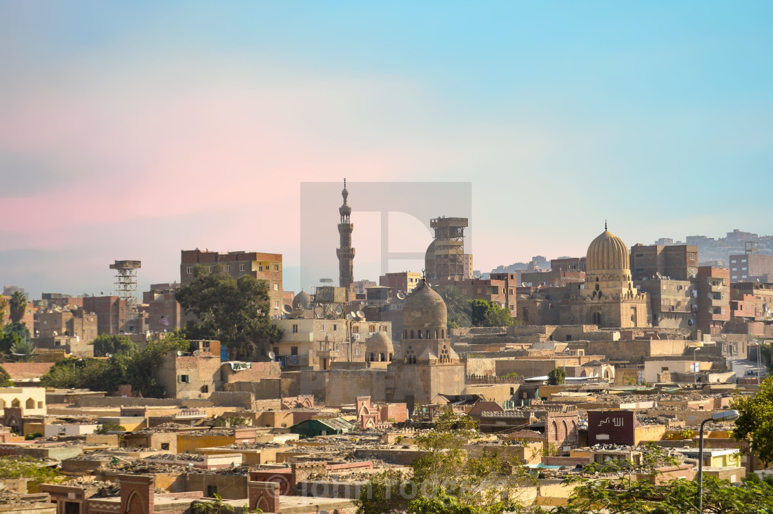 """Cityscape of Cairo, Egypt"" stock image"