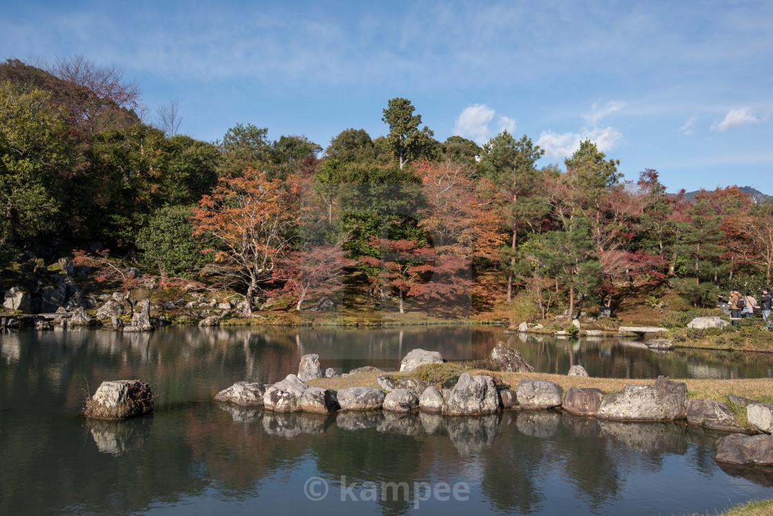 """Japan, Kinki Region, Kyoto Prefecture, Kyoto City, Tenryu-ji Temple,..."" stock image"