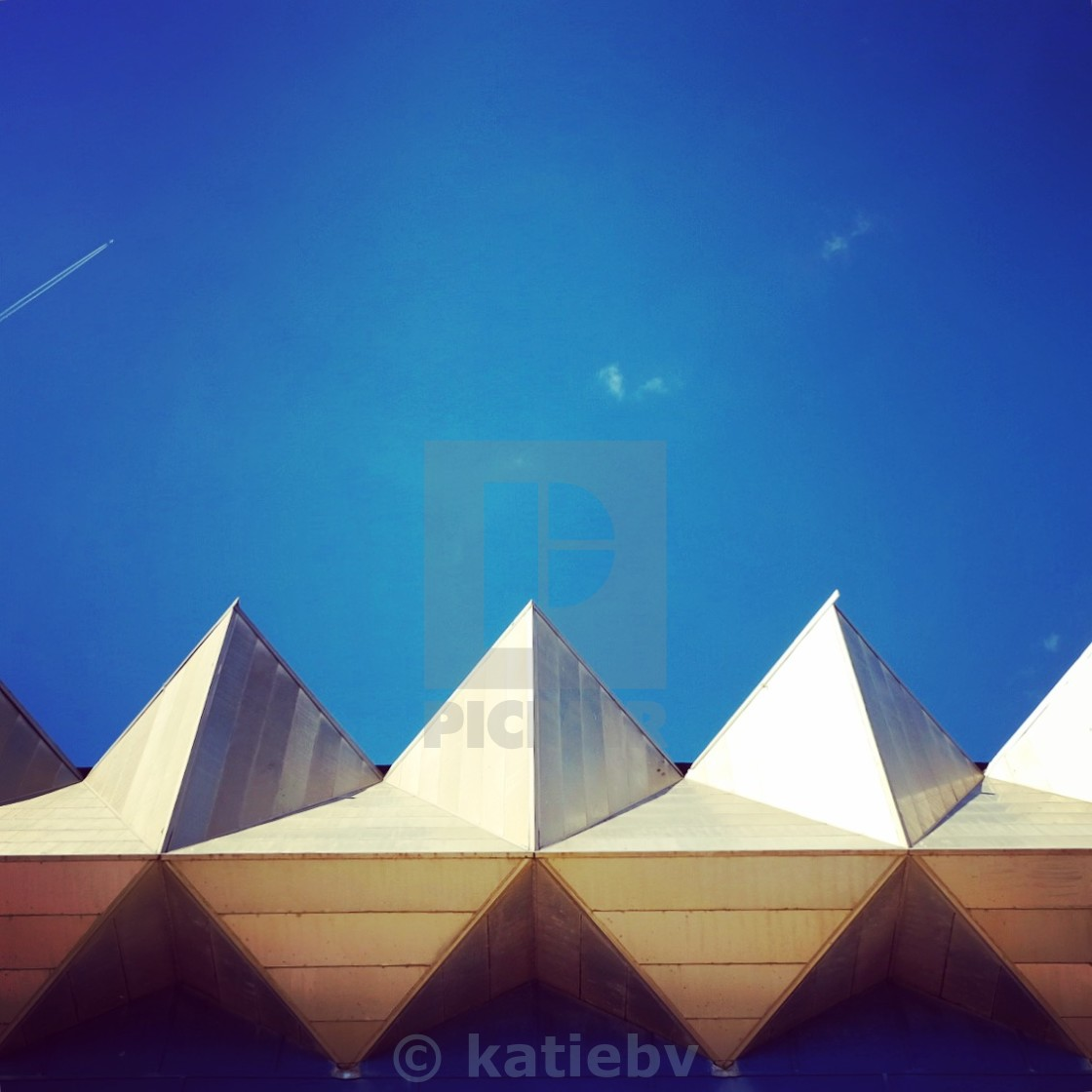 """Triangulated Architecture"" stock image"