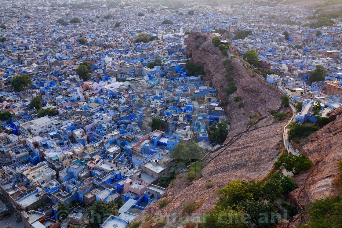"""Jodhpur City, Rajasthan, India"" stock image"