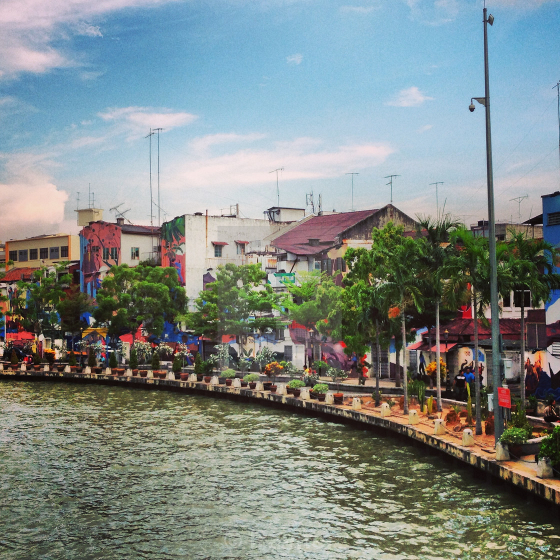 """Colours of Malacca"" stock image"