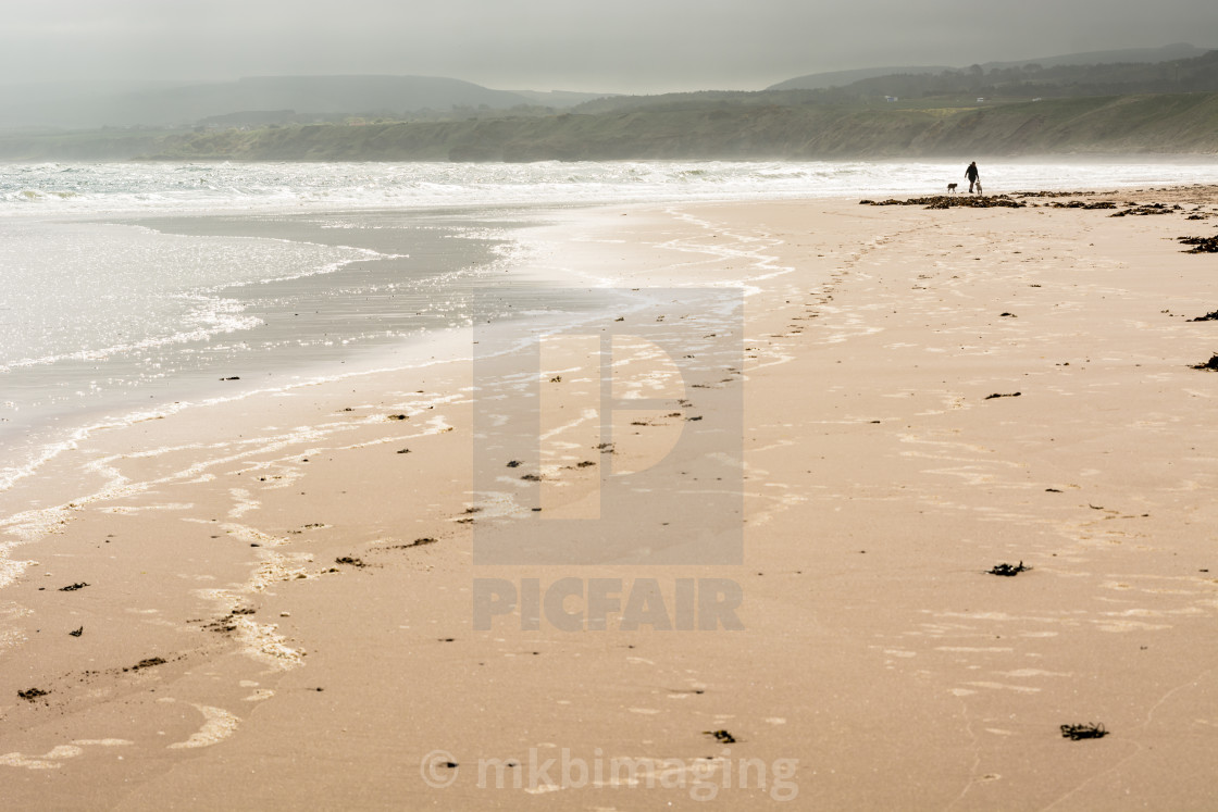 """Quiet Beach"" stock image"