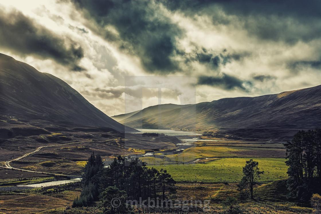 """""""The Scottish Highlands"""" stock image"""