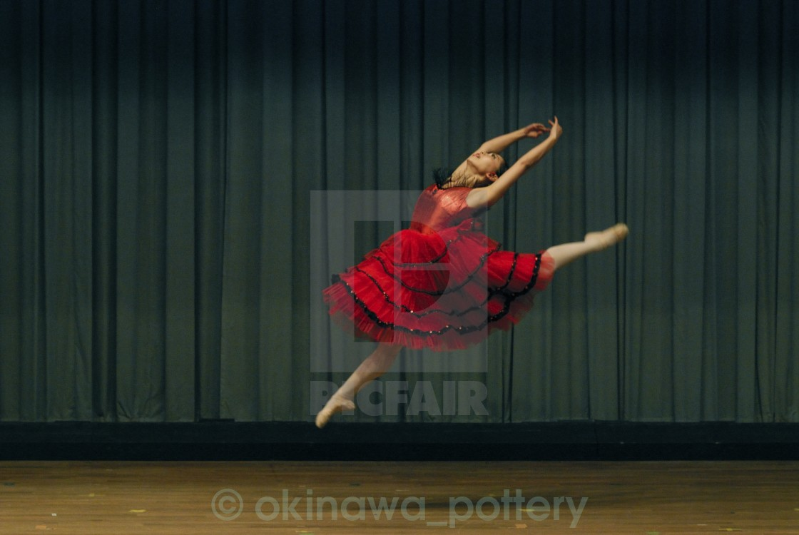 """Ballet Dancer"" stock image"