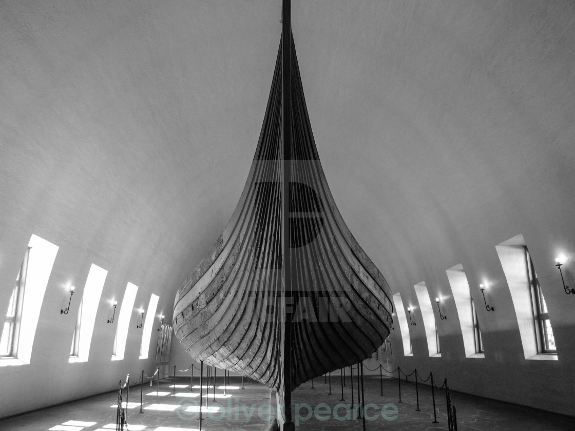 """Viking Ship"" stock image"