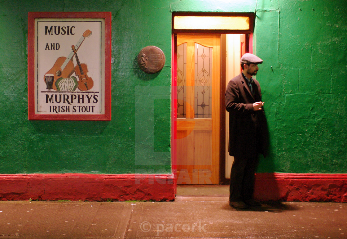 """Traditional Irish Pub"" stock image"