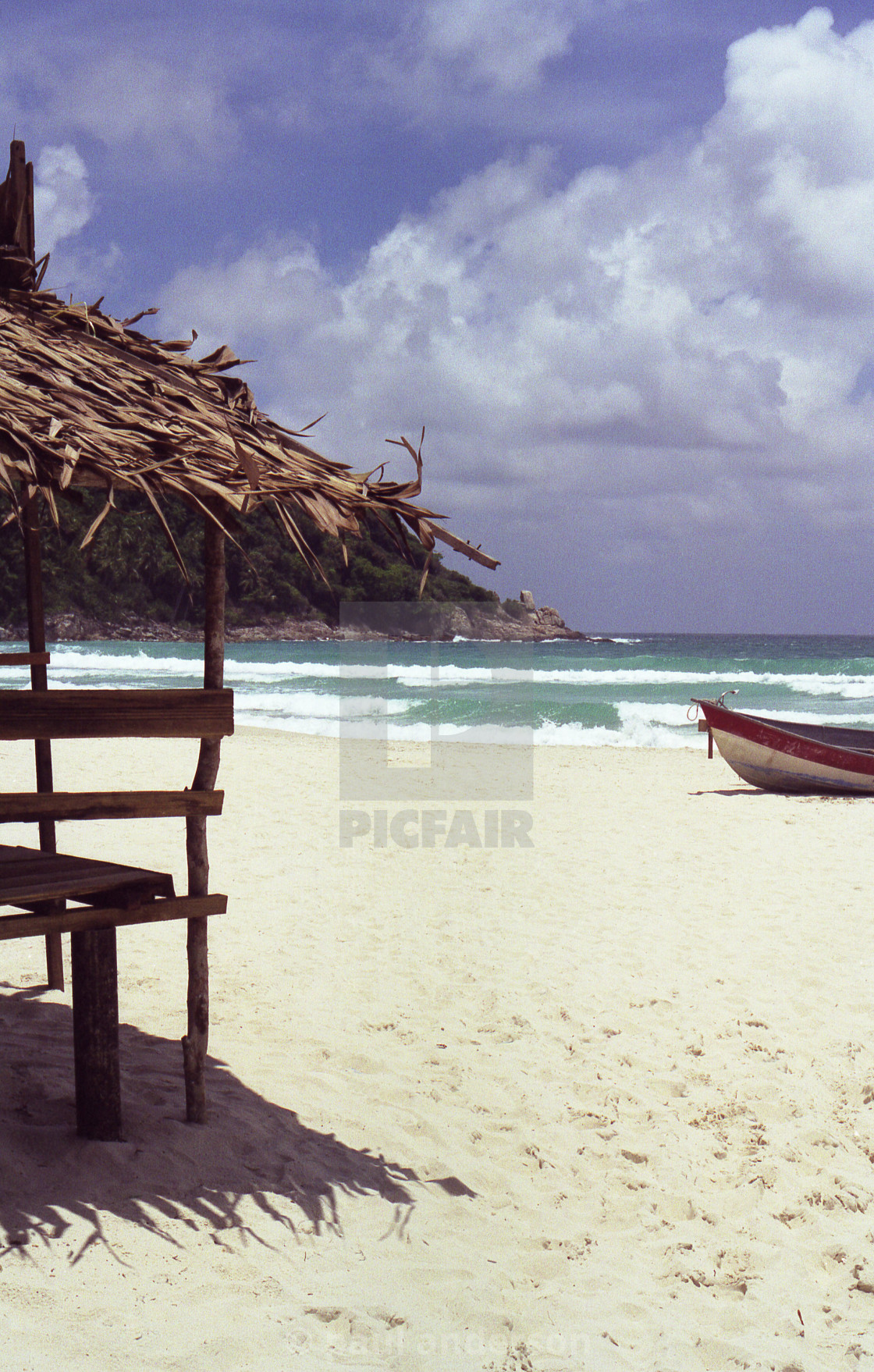 """Beach in Thailand"" stock image"