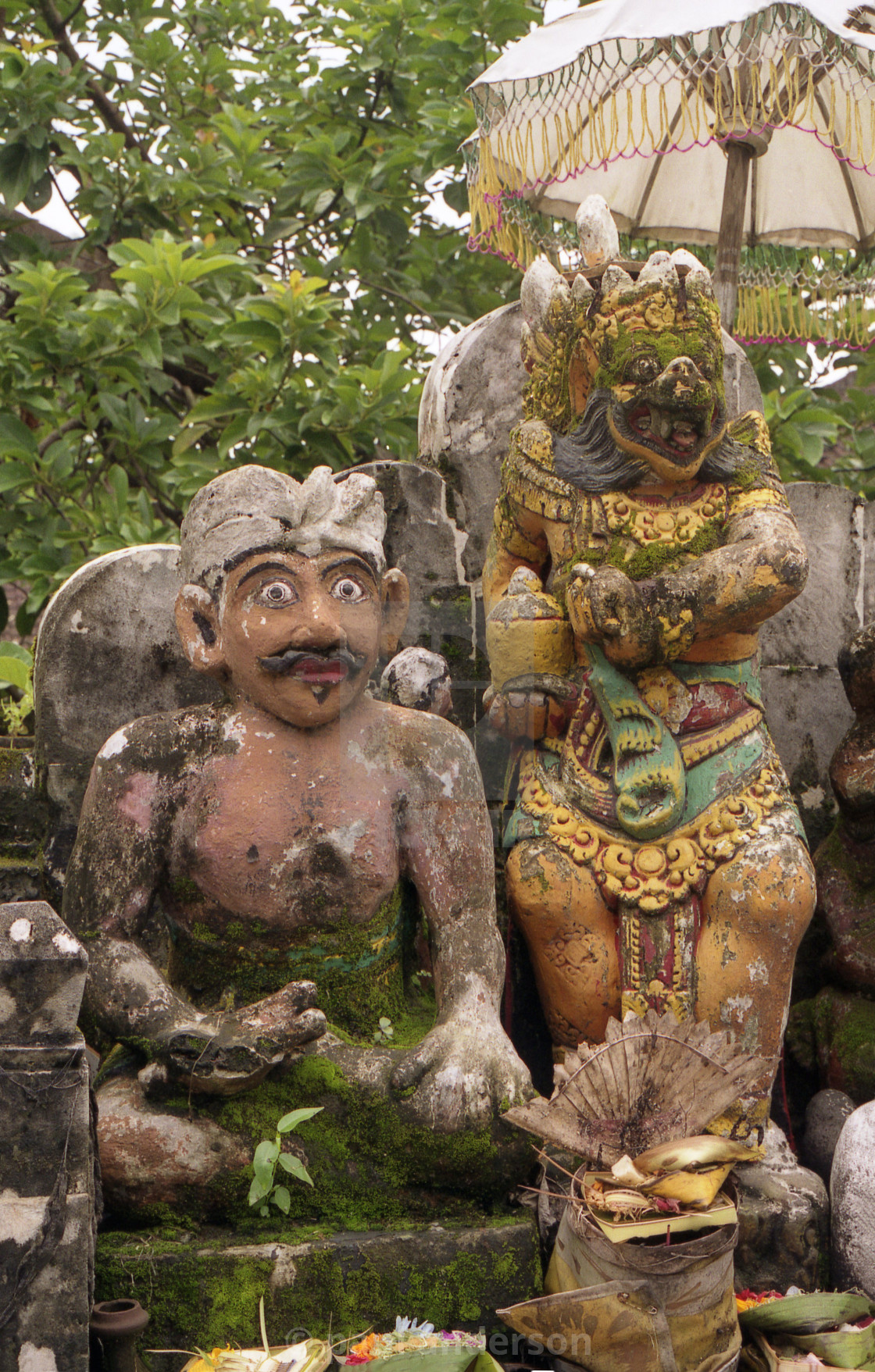 """Statues in Bali"" stock image"