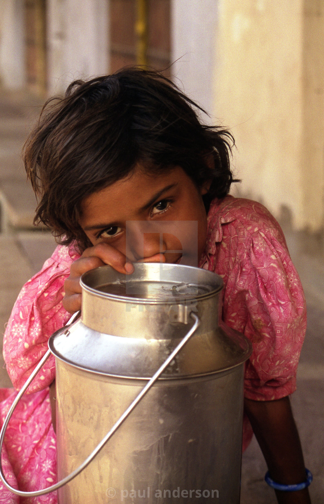 """young girl in India"" stock image"