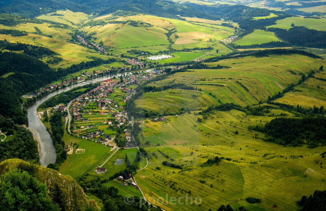 """Aerial View"" stock image"
