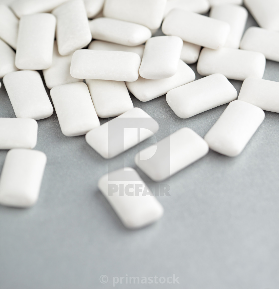 """Chewing gum"" stock image"