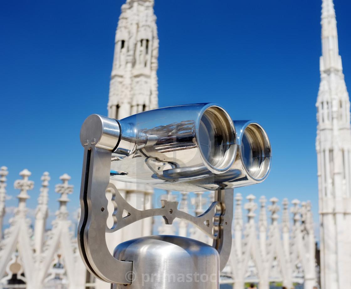 """""""Milan Binoculars"""" stock image"""
