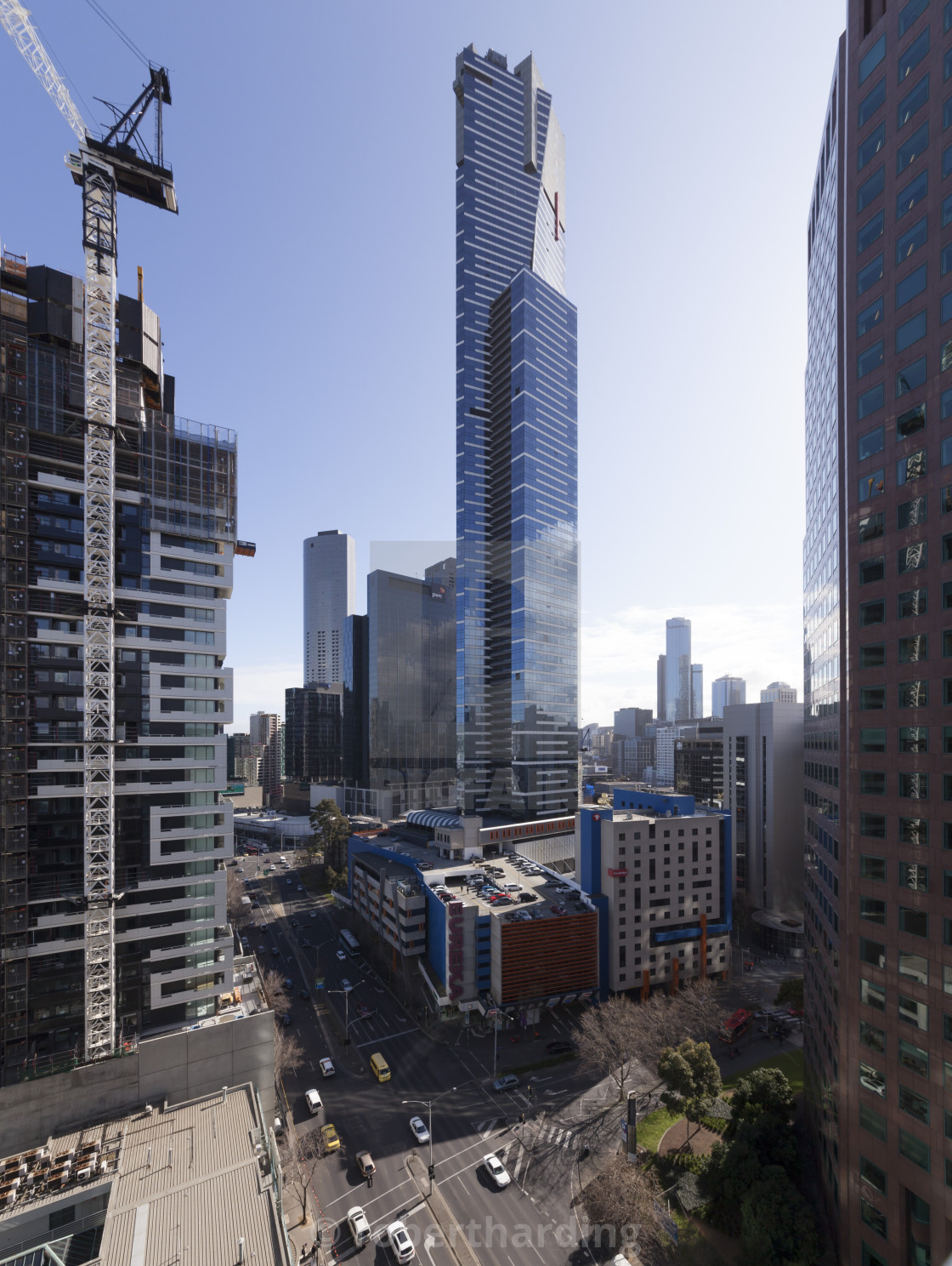 Eureka Tower (91 floors), Melbourne, Victoria, Australia