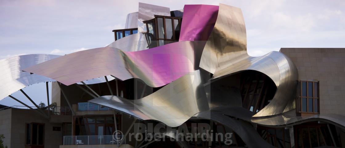 Hotel Marques De Riscal Bodega Futuristic Design By Architect Frank
