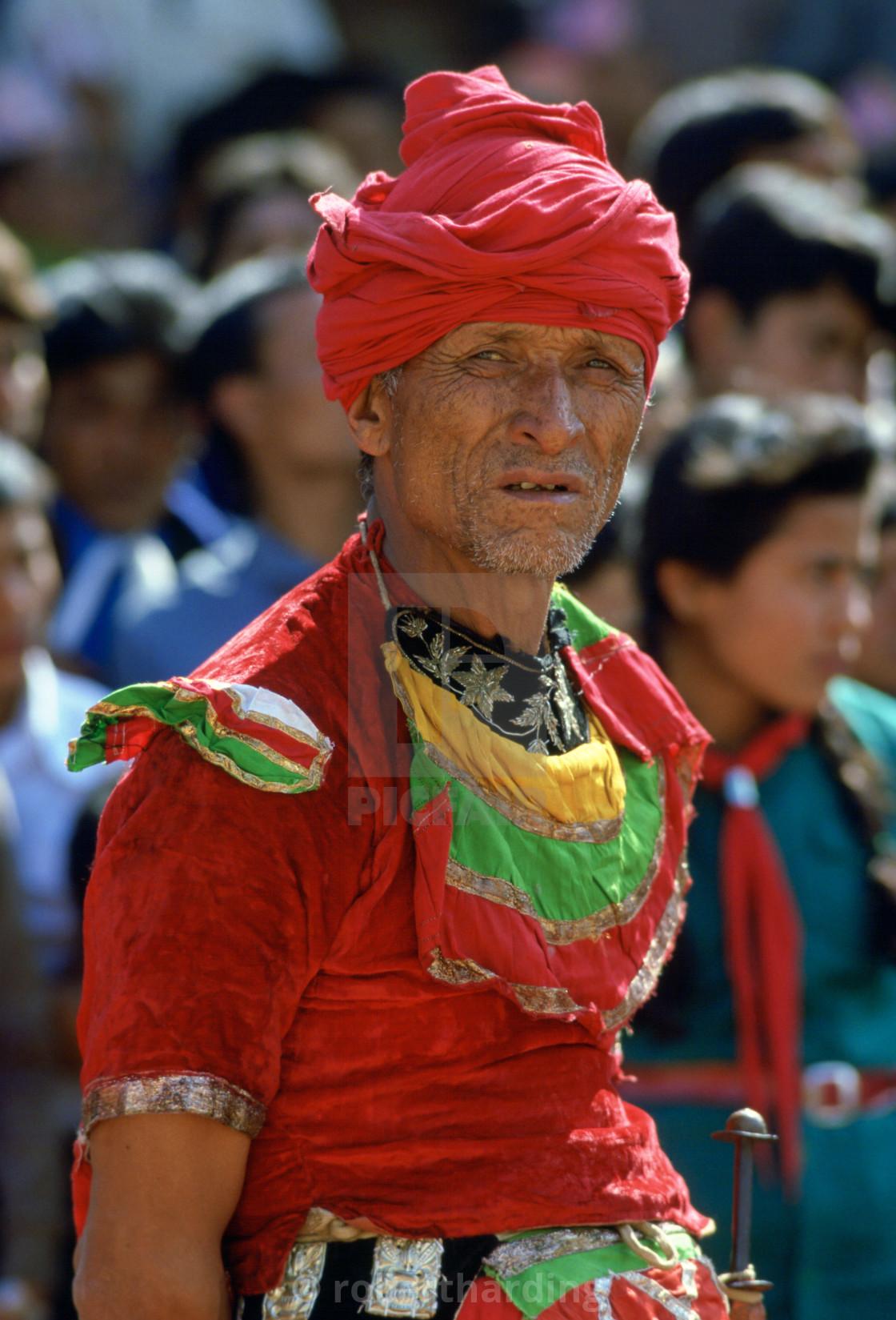 """Dancer, Bhaktapur, Nepal"" stock image"