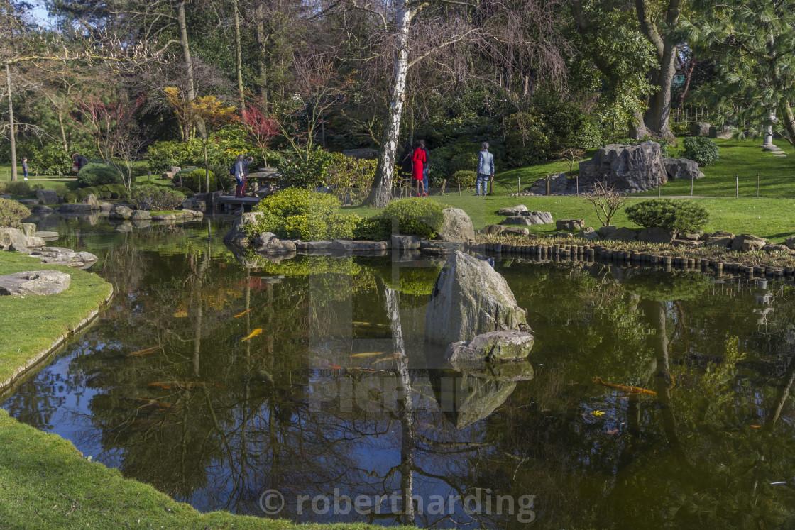 Kyoto Gardens, Holland Park, London, England, United Kingdom, Europe ...