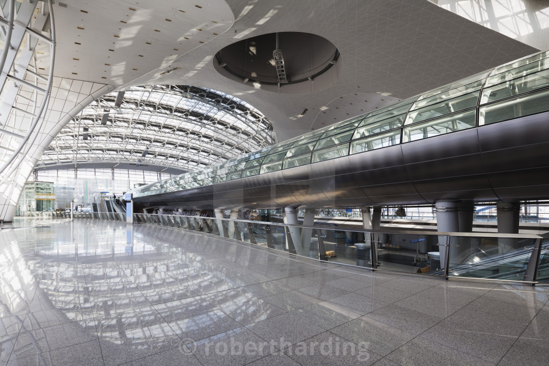 """Incheon International airport, South Korea, Asia"" stock image"
