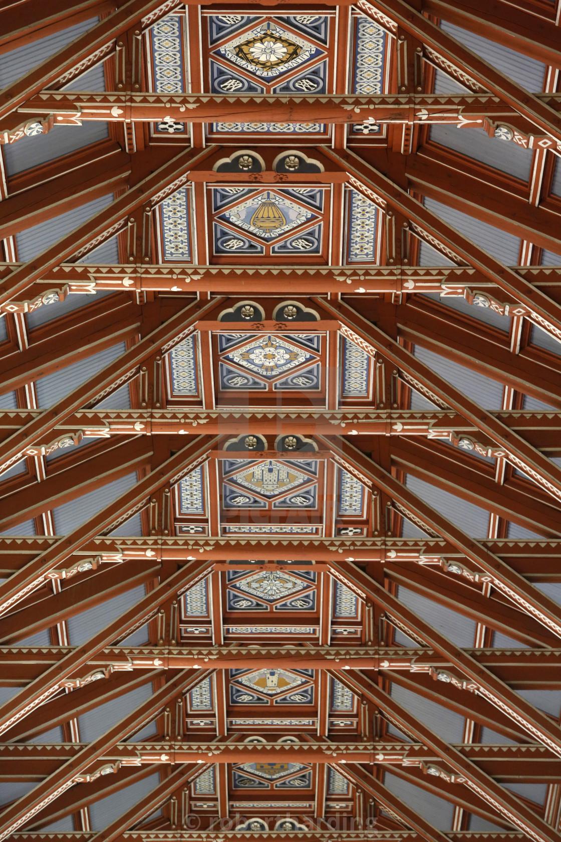 """Notre Dame de Brebieres basilica, Albert, Somme, France, Europe"" stock image"