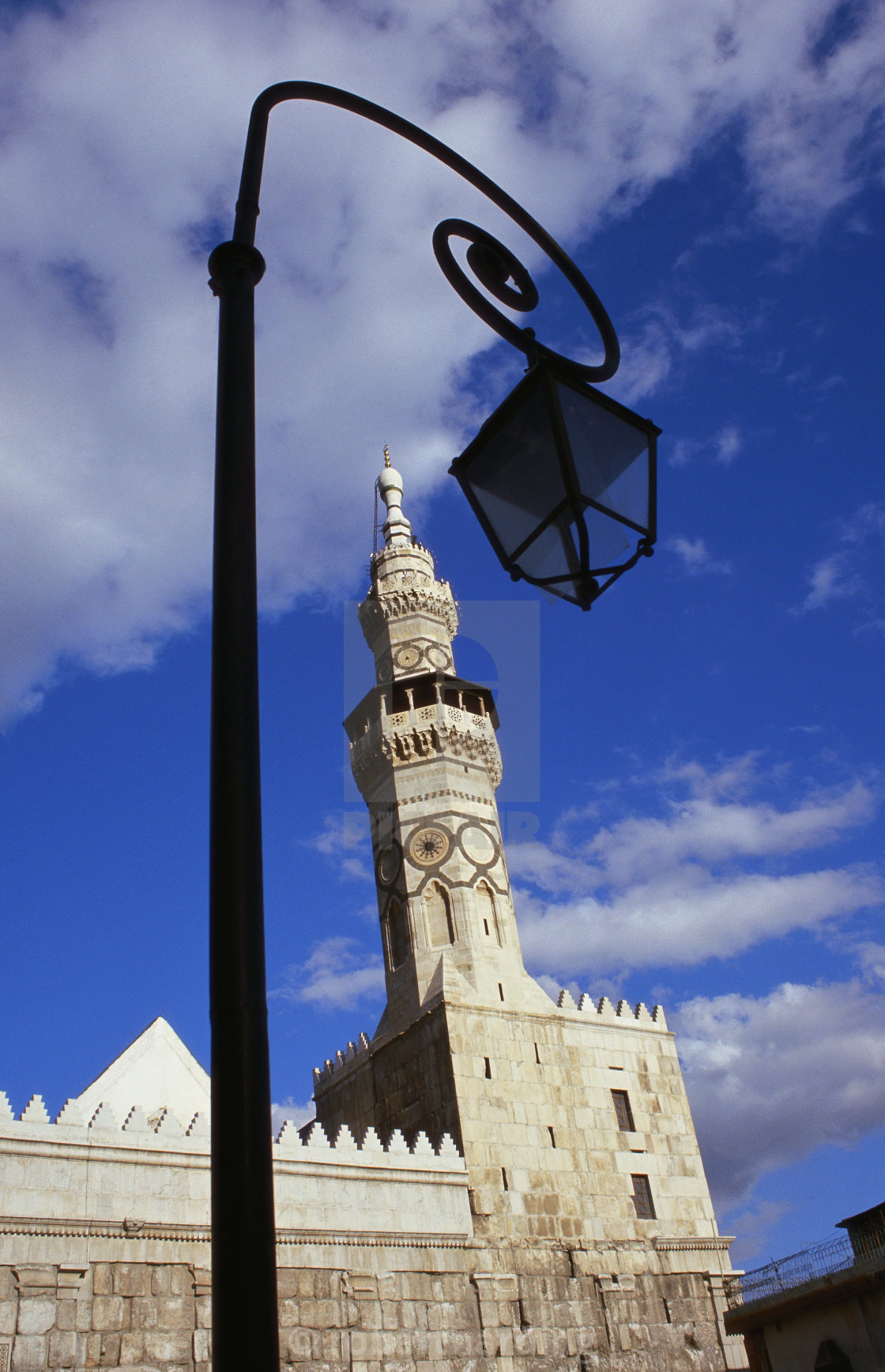 """""""Umayyad Mosque, Damascus, Syria"""" stock image"""