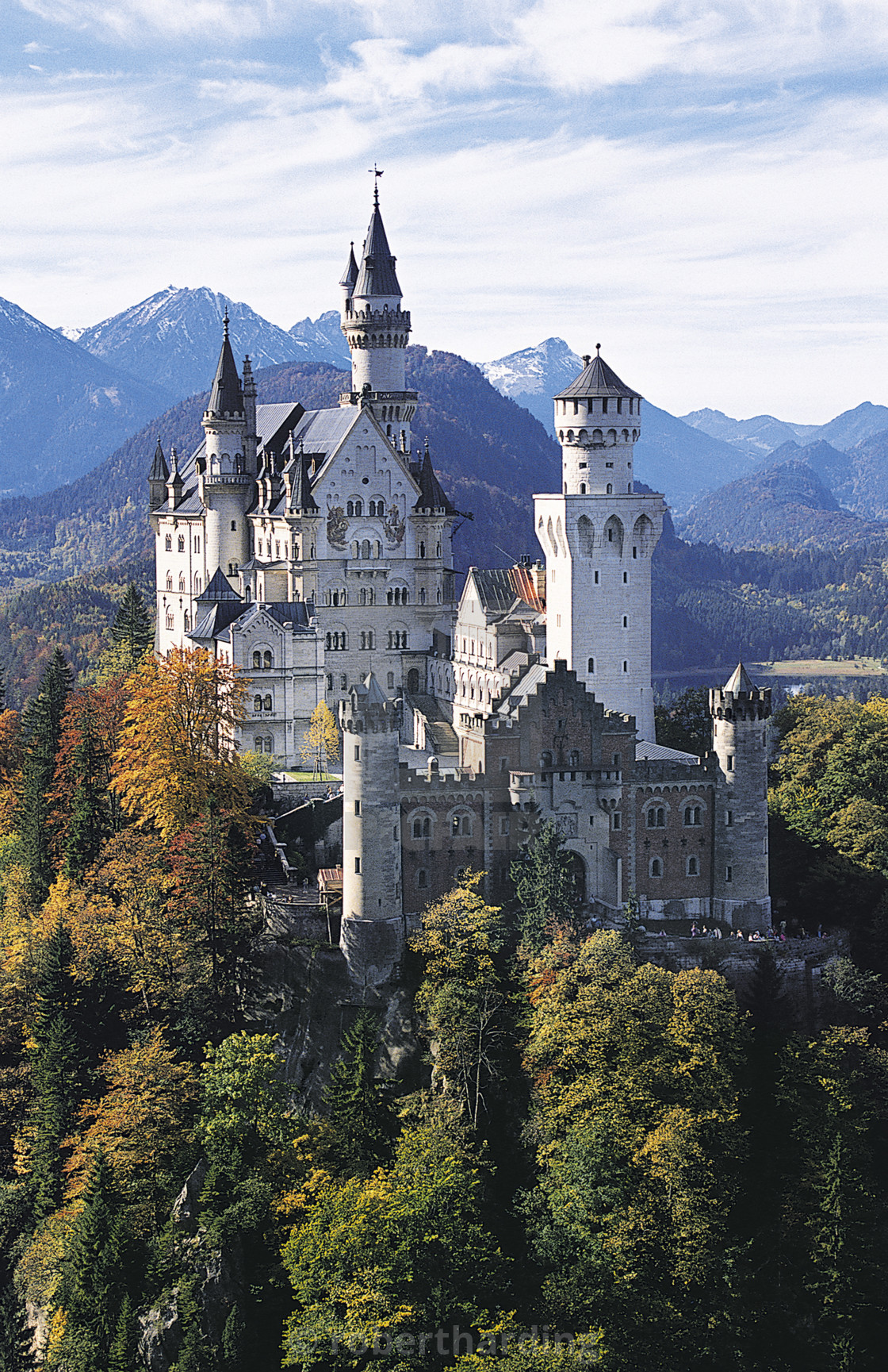 """Neuschwanstein Castle, Allgau, Germany"" stock image"