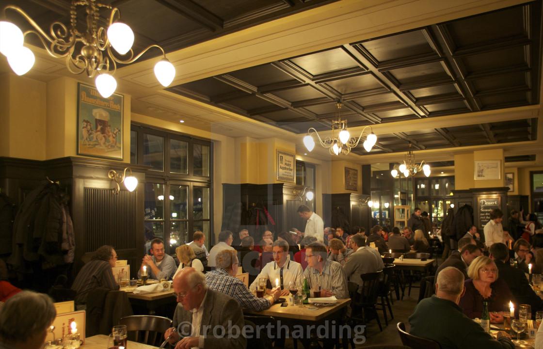 Traditional German Restaurant Berlin Germany Europe