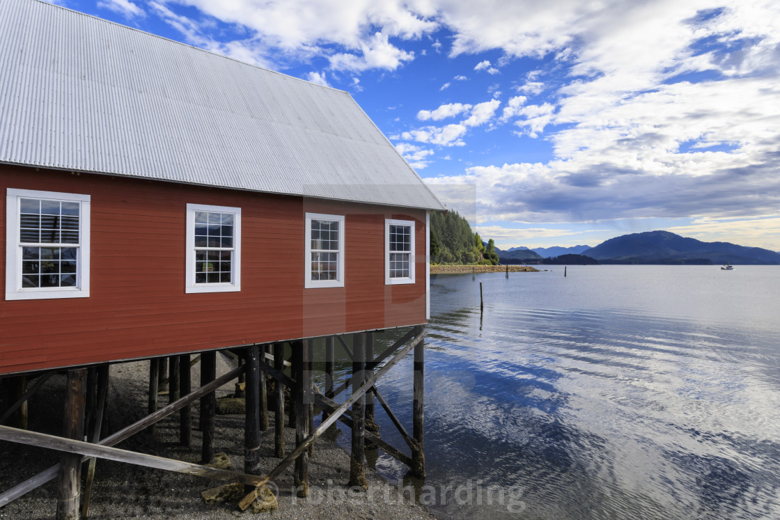 Restored Salmon Cannery Museum Icy Strait Point Hoonah Summer