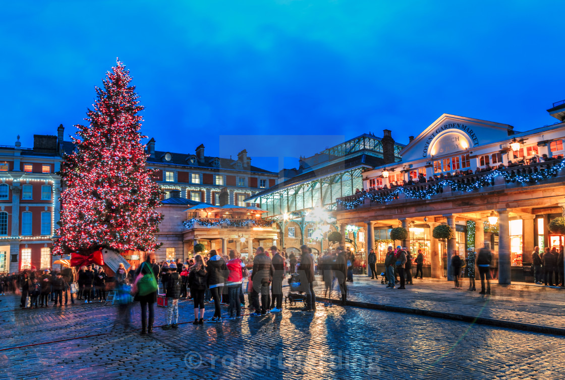 United Kingdom Christmas.Christmas Treen At Covent Garden London England United