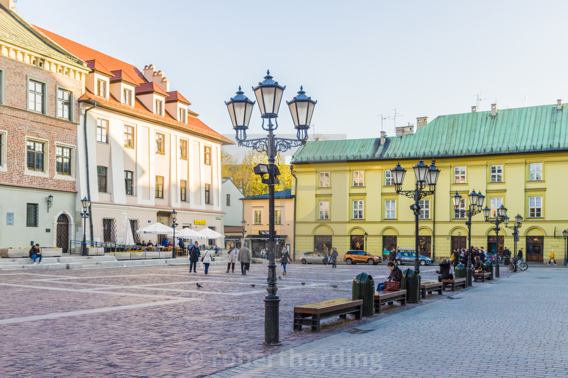 https www picfair com pics 08622715 little market square maly rynek in the medieval old town a unesco world