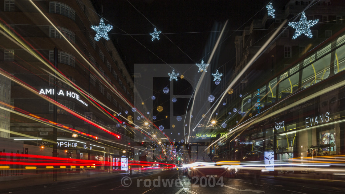 """London Lights"" stock image"