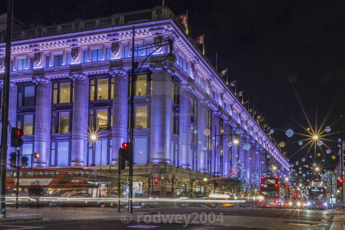 """""""Selfridges Stands Out."""" stock image"""