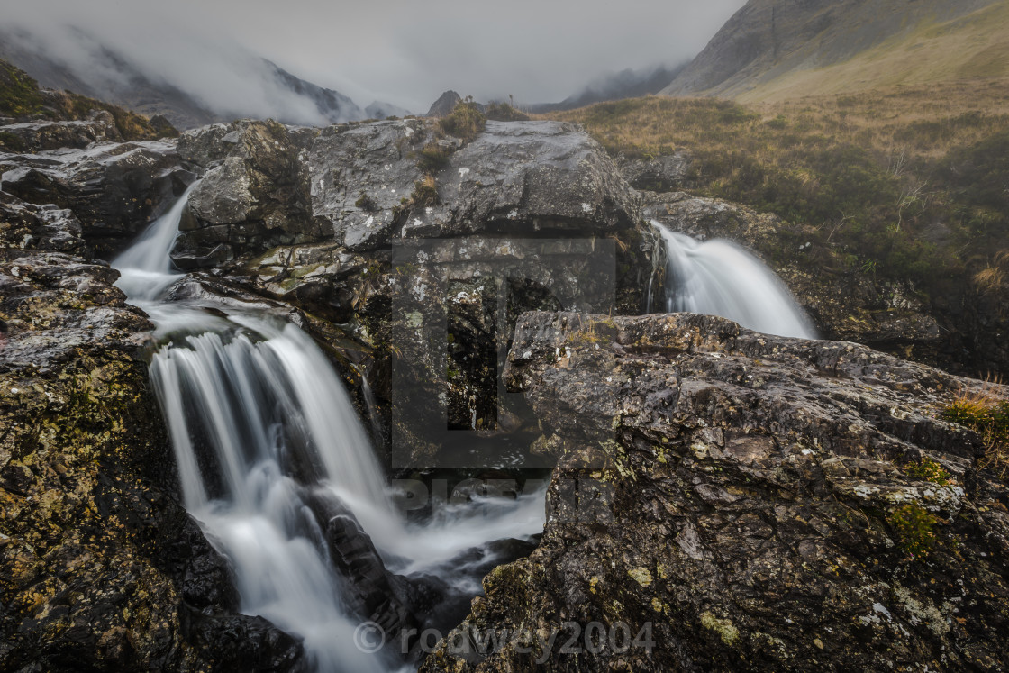 """The Beauty Of The Fairy Pools"" stock image"